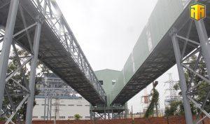 Dự án băng tải Khe Ngát - Điền Công chuẩn bị đi vào hoạt động