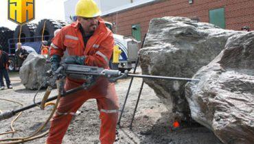 Tìm hiểu về búa khoan khí nén và vai trò của nó trong ngành công nghiệp khai thác khoáng sản